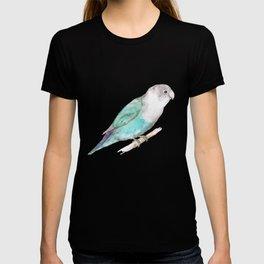 Pale blue lovebird T-shirt