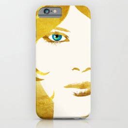24 Karat Babe iPhone Case