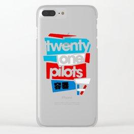21 pilots Clear iPhone Case