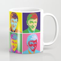 arsenal Mugs featuring WENGER à la WARHOL by Betwixt