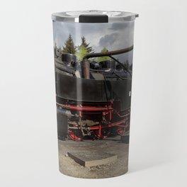 Steam train for water refueling Travel Mug