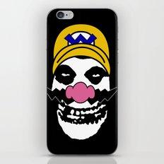 Misfit Wario iPhone & iPod Skin