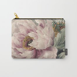 Paris Peony Carry-All Pouch