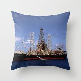 Hughes Glomar Explorer Throw Pillow