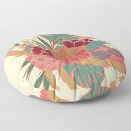 Vintage Floral Tropical - Market + Supply Floor Pillow