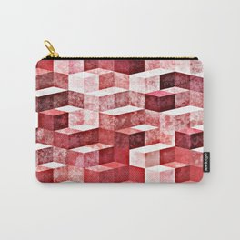 Pink Granite Carry-All Pouch
