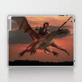 Dragon Girl  Laptop & iPad Skin