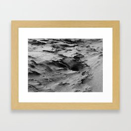 Shifting Sand Framed Art Print