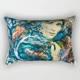 the woman's face #2 Rectangular Pillow