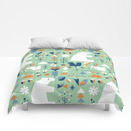 Forest animals Comforters