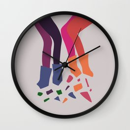 Dantelle: female journey Wall Clock