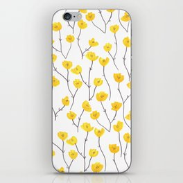 Buttercups iPhone Skin