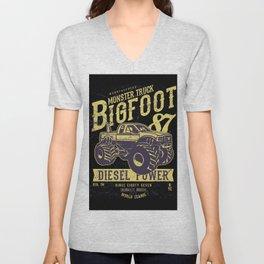 Bigfoot Unisex V-Neck