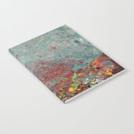Abstract Distressed #3 Notebook