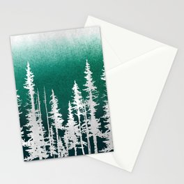Evergreen Trees Stationery Cards