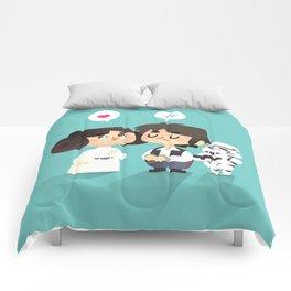 I love you, i know Comforters