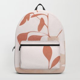 Minimal Branches and Vases Backpack