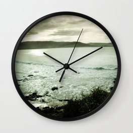 Moody Bay Wall Clock