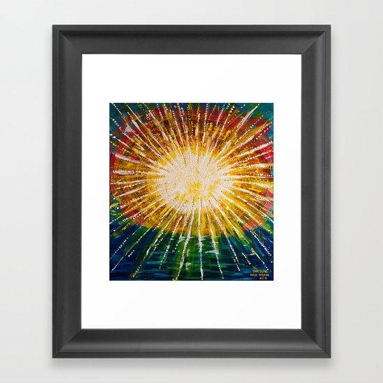 :: OneSun II :: Framed Art Print