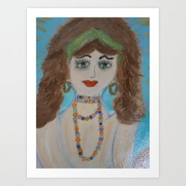 "Mermaids, ""Mariella"" Art Print"
