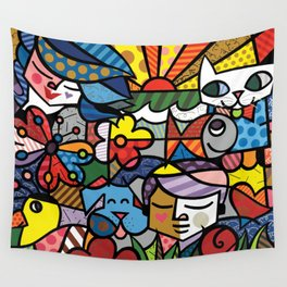 Bambam and Friends Wall Tapestry