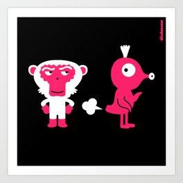 Poot : idokungfoo.com Art Print