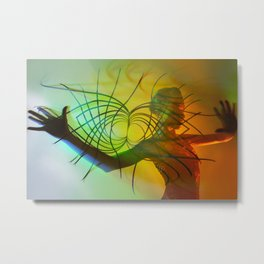 Playing with Infinity Metal Print
