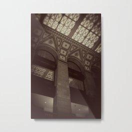 Wintrust Building Columns Original Photo Metal Print