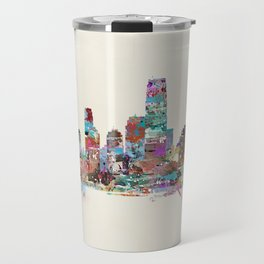 jersey city new jersey skyline Travel Mug