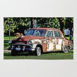 1952 Plymouth Cranbrook Seen Better Days Rug