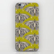 swallowtail butterfly citron basalt iPhone & iPod Skin