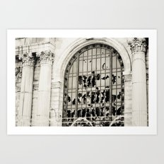 Time After Time Art Print