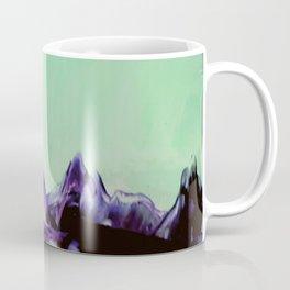 Purple Alien landscape Coffee Mug