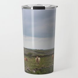 Burren Cows Travel Mug