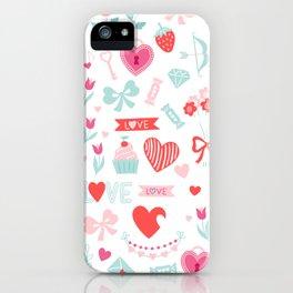 Happy Valetines Day iPhone Case