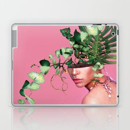 Lady Flowers VI Laptop & iPad Skin