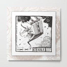 03 SCALE Maptober2019 Metal Print