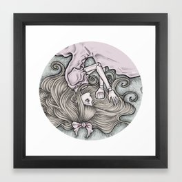 Sleeping Alice Framed Art Print