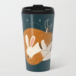 The Fox and the Hare Travel Mug