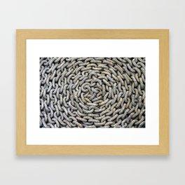 Chain roller - Kettenrolle Framed Art Print