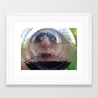 drink Framed Art Prints featuring drink by Shayan Michelle