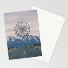 Road to the Mountain Stationery Cards