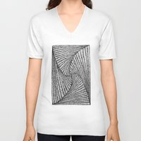 the xx V-neck T-shirts featuring XX by Krista Jaworski