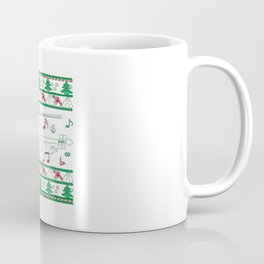 Violin Christmas Coffee Mug
