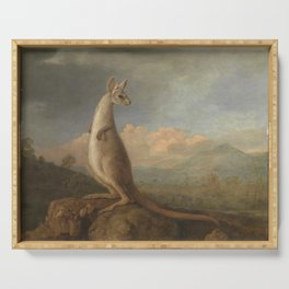 George Stubbs - The Kongouro from New Holland Serving Tray