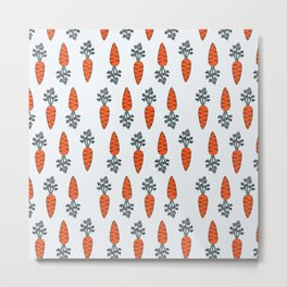 Carrots meet carrots Metal Print