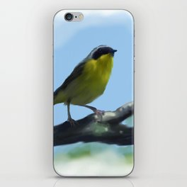 Common Yellowthroat iPhone Skin