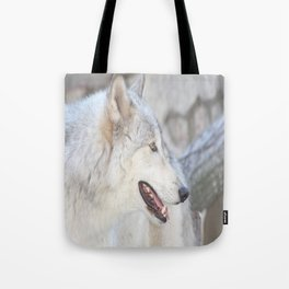 Wolf Profile #2 Tote Bag