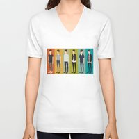 tegan and sara V-neck T-shirts featuring Tegan and Sara: Sara collection by Cas.