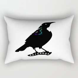 Tui New Zealand Native Bird Rectangular Pillow